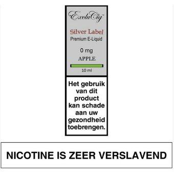 ExcluCig Silver Label Apple liquid
