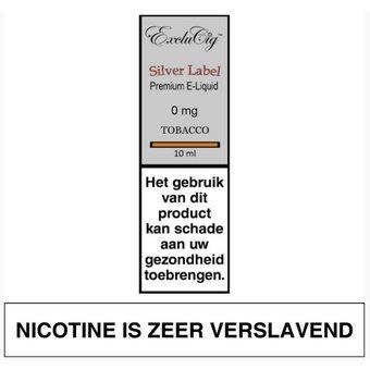 ExcluCig Silver Label Tobacco e-liquid