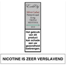 ExcluCig Silver Label Triple Menthol
