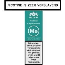 Millers Juice Silverline Menthol