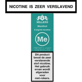 Millers Juice Silverline Menthol e-liquid