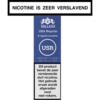 Millers Juice Silverline Usa Regular e-liquid