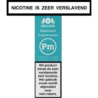 Millers Juice Silverline pepermunt e-liquid