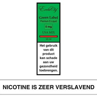 ExcluCig Green Label USA Mix