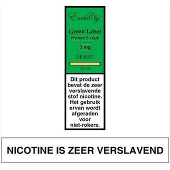 ExcluCig Green Label Desert e-lquid