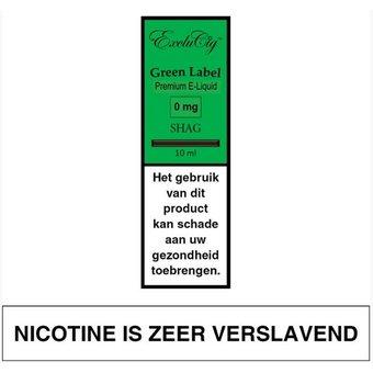 ExcluCig Green Label Shag e-liquid