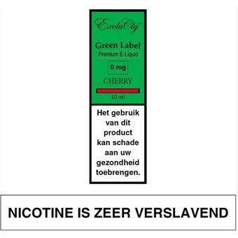 ExcluCig Green Label Cherry e-liquid