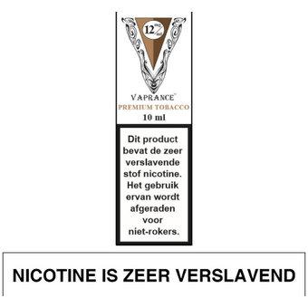 Vaprance White Label Premium Tobacco e-liquid