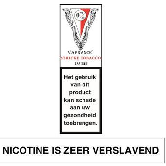 Vaprance White Label Stricke Tobacco e-liquid