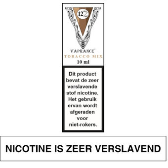 Vaprance White Label Tobacco Mix e-liquid