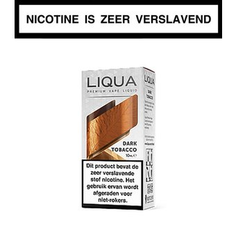 LiQua Dark Tobacco e-liquid