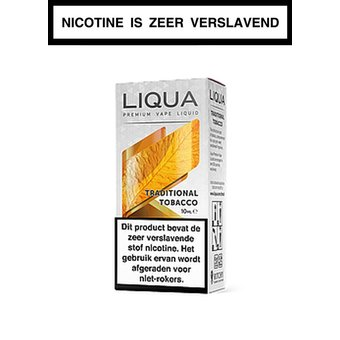 LiQua Traditional Tobacco e-liquid