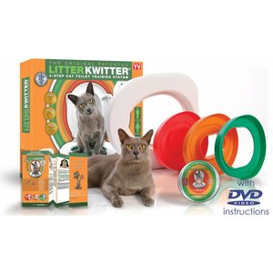 Litter Kwitter Toilet training system for cats