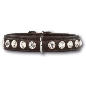 Doxtasy Dog Collar Swarovski Extreme Black 15mm