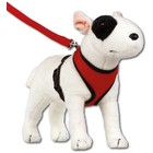 Doxtasy Round Loop Dog Harness Mesh Red