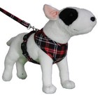 Doxtasy Round Loop Dog Harness Scottish Black
