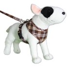 Doxtasy Round Loop Dog Harness Scottish Brown