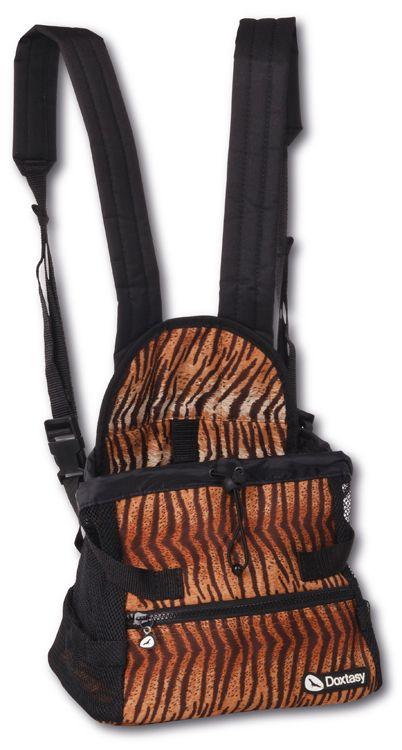 Hondendraagtas buik Tiger
