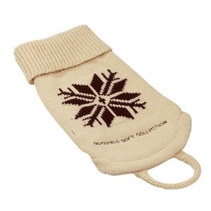 Hunter Dog Sweater Snow Beige