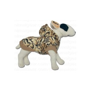 Doxtasy Dog Coat Fleece Jacket Leopard