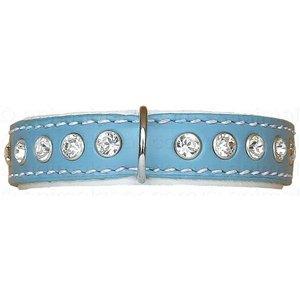 Doxtasy Dog Collar Swarovski Extreme Baby Blue 15 mm