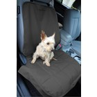 Petego Dog Blanket for the front seat Black