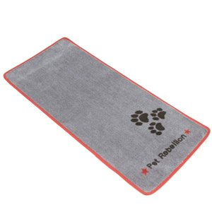 Pet Rebellion Barrier Rug Stop Muddy Paws Light Grey