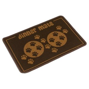 Pet Rebellion Placemat Dinner Mate Brown