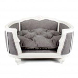 Lord Lou Dog Bed Arthur Stonewashed Grey