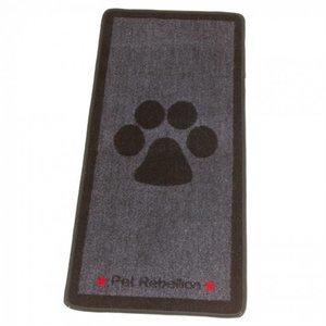 Pet Rebellion Barrier Rug Stop Muddy Paws Grey