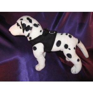 Puppia Dog Harness Soft Vest Black