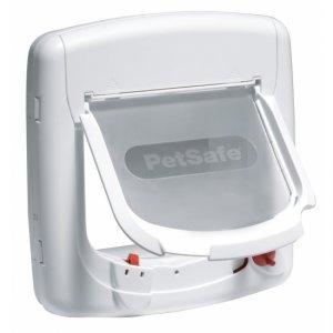 Petsafe Staywell magnetic De Luxe cat flap white