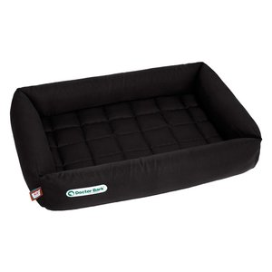 Doctor Bark Dog Bed Black