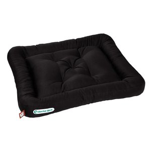 Doctor Bark Dog Cushion Black