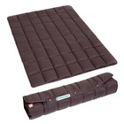 Doctor Bark Foldable dog blanket brown
