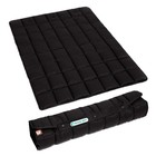 Doctor Bark Foldable dog blanket Black