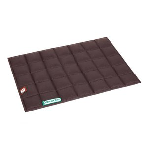 Doctor Bark Plaid for dog bed Brown