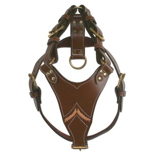 Doxtasy Dog Harness Gladiator Brown
