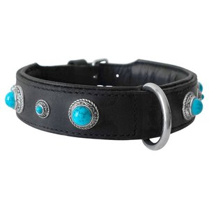 Doxtasy Dog Collar Antique Turquoise