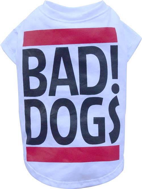Honden T Shirt Bad Dogs