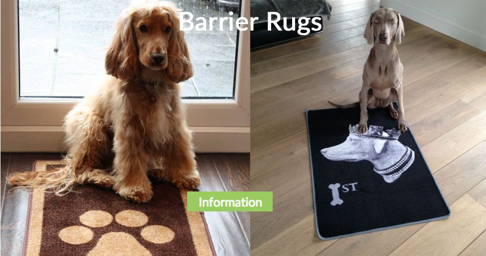 Pet Rebellion Barrier Rugs