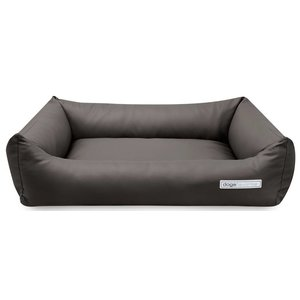 Dogsfavorite Dog Bed Leatherette Taupe
