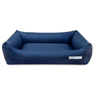 Dogsfavorite Dog Bed Leatherette Navy Blue