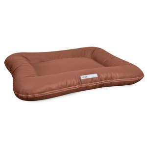 Dogsfavorite Dog Bed Classic Leatherette Cognac