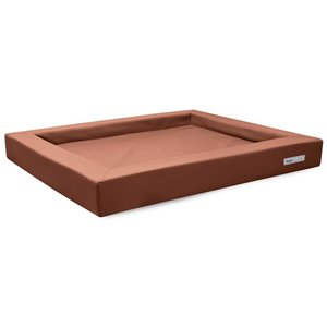 Dogsfavorite Dog Bed Relax Leatherette Cognac