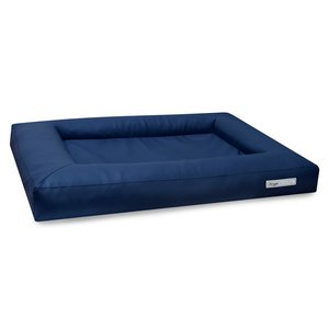 Dogsfavorite Dog Bed Cube Leatherette Navy