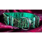 Petsonline Martingale Collar Brocade Green Avaris