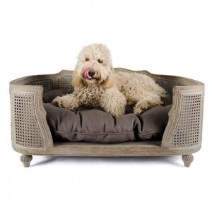 Lord Lou Dog Bed Arthur Charcoal Brown