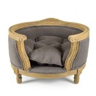 Lord Lou Dog Bed George Charcoal Brown