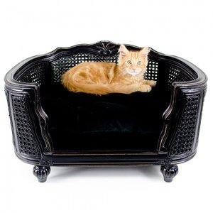 Lord Lou Cat Bed Arthur Black Velvet